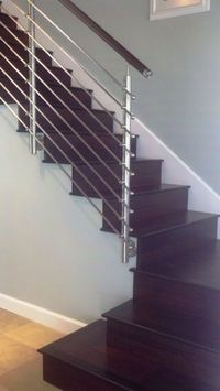 Delightful Stainless Steel Stair Parts Collection 1