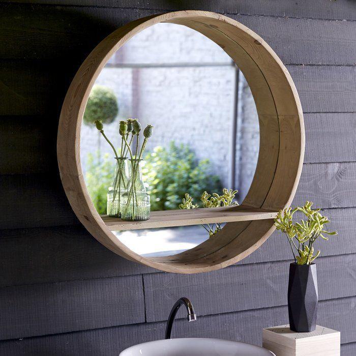 Der Moderne, Runde Spiegel Aya Versetzt Sie Mit Seinem Bullaugen Design In  Die Welt