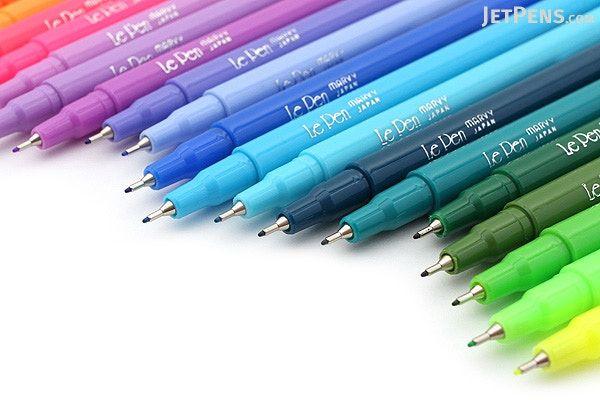 Marvy Le Pen Marker Pen Fine Point 24 Color Bundle Jetpens