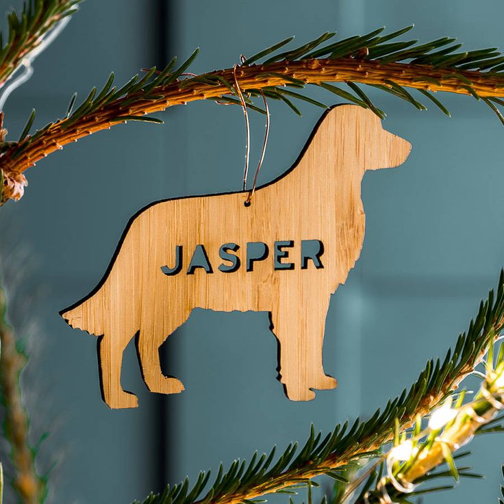 Are you interested in our christmas tree hanging decorations? With our personalised pet animal decoration you need look no further.