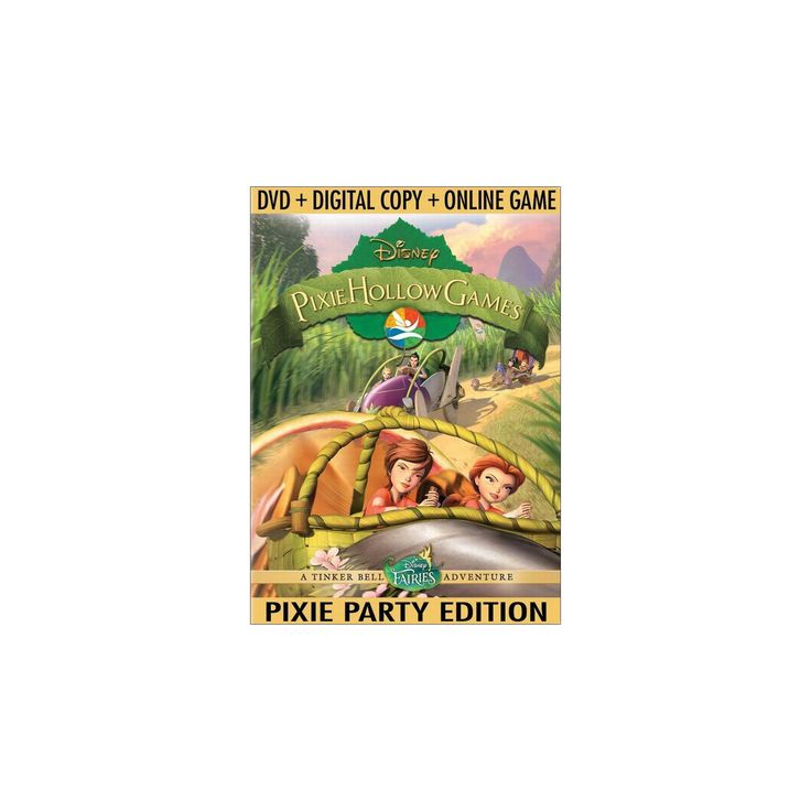 Pixie Hollow Games (Pixie Party Edition) (Includes Digital Copy) (With Online Game) (dvd_video)