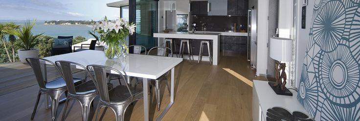 open plan and indoor outdoor flow