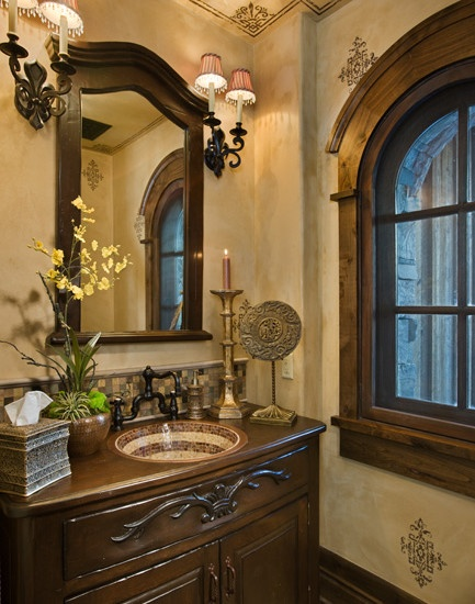 powder room design
