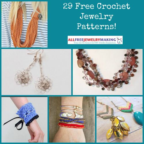 29 Free Crochet Jewelry Patterns: recently updated!