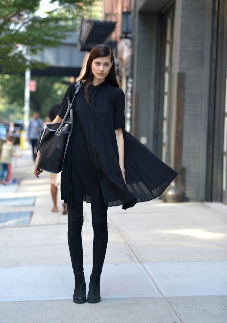 in the streets of New York #NYFW