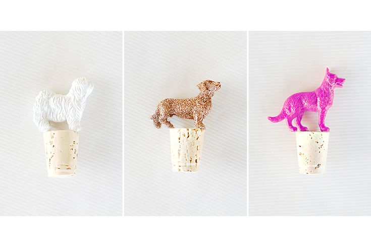 DIY: Canine Wine Toppers | Pretty Fluffy