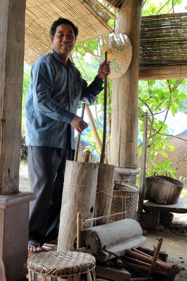 A traditional kiln in Laos, at Luang Prabang's Living Land Farm