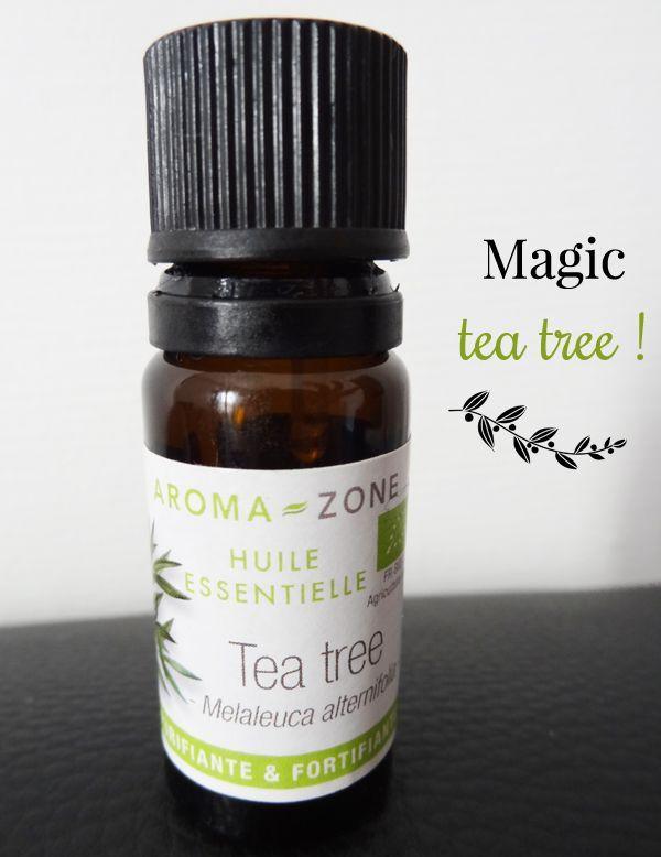 Beauty tips #2 - Les pouvoirs de l'huile essentielle de tea tree