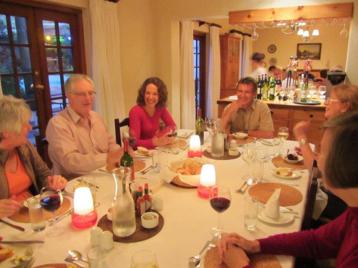 Wild Insights nature group enjoying a hearty cooked meal by our fabulous chefs. #accommodationincapetown