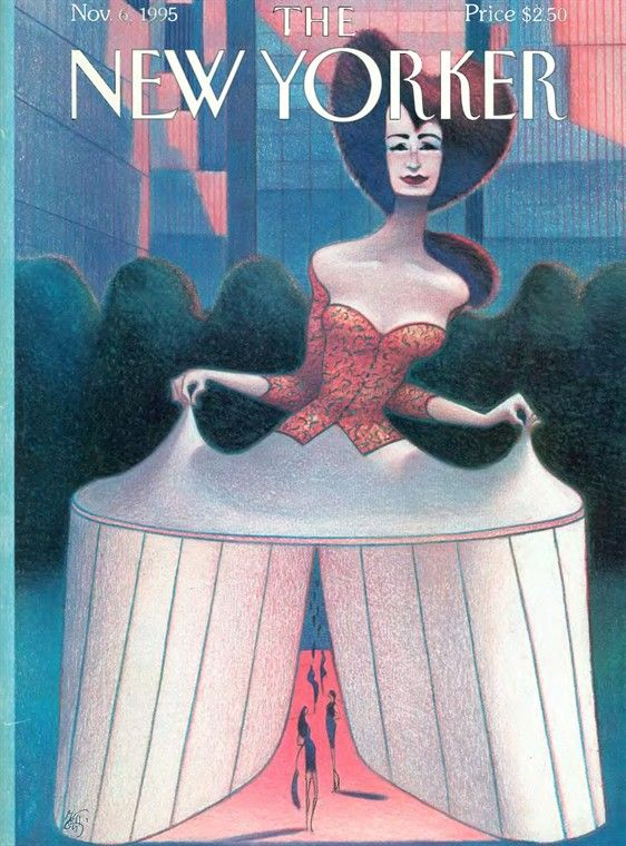 A 1995 Lorenzo Mattotti cover.