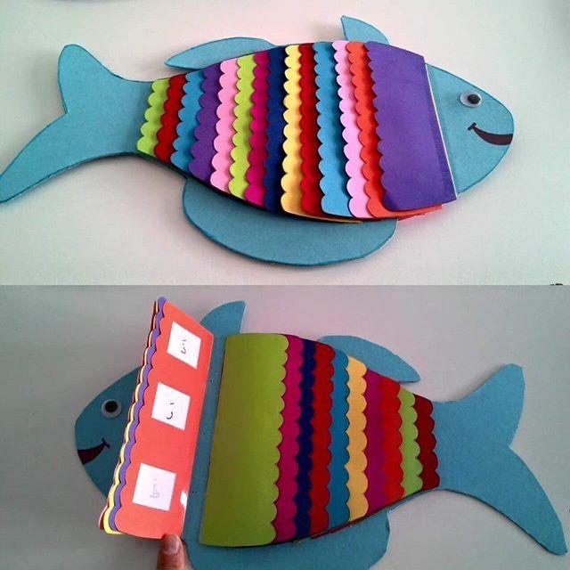 Balık, çiçek, kuş ya da çocuğunuz her neyi seviyorsa :) Harf ve hareke okuyusunu sevdirmek ve hızlandırmak için hazırlanan renkli kitapçık. ->Renkli kartonlarla hazırlayabilirsiniz.