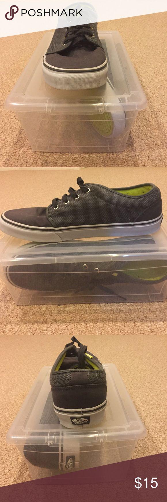 Vans Vans Authentic (Gray) Vans Shoes Sneakers