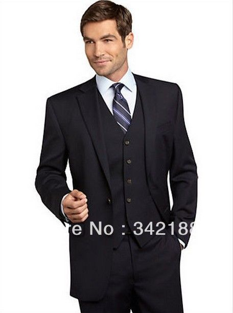 Free shipping/Custom made black style fresh wool suit cheap Men suits Fashion man SuitS wedding groom tuxedos groomsmen dress