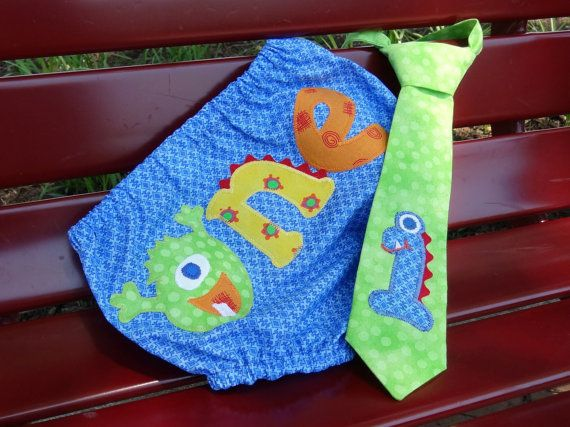 2pc Lil' Monsters Smash Cake Set  Blue by PunkersNPie on Etsy