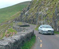 Rick Steves has some helpful info about driving in Ireland. If you are traveling to Ireland then do not miss the opportunity to explore the island by car.  We spent 3 weeks driving around Ireland and loved it.  Yes some roads are narrow & winding, but just take it easy and pace yourself.  You may encounter a few sheep along the way, but the views and the people will make it an amazing experience.