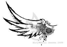 steampunk wings tattoo - Cerca con Google
