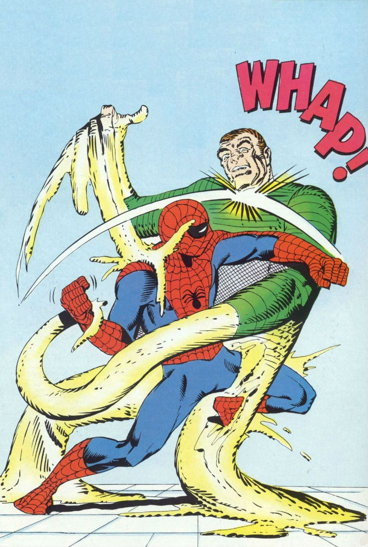 Spider-Man vs Sandman by Steve Ditko