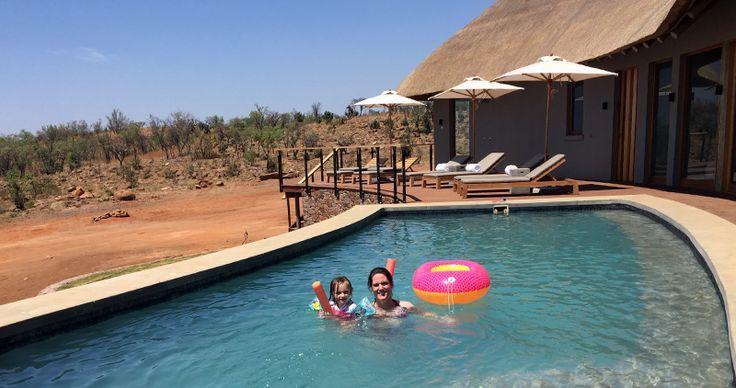 Mhondoro Lodge Welgevonden Wildreservaat. Zuid-Afrika met kinderen.