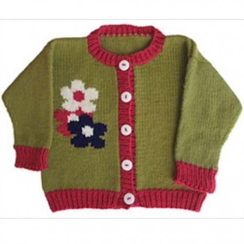 Roo Designs - Flower Cardigan