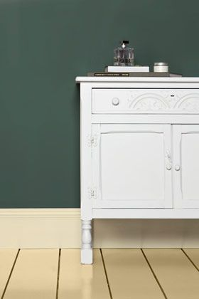 Green Smoke - Paint Colours - Farrow & Ball KITCHEN CABINETS