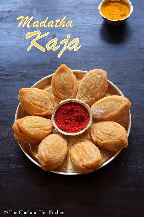 Madatha Kaja also known as Kakinada Kaja or Tapeswaram Kaja is a famous Sweet recipe from the state of Andhra Pradesh. This sweet alw...