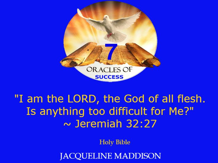 """""""I am the LORD, the God of all flesh. Is anything too difficult for Me?"""" ~ Jeremiah 32:27 Holy Bible ✨✨ #success #quotes #business #books #entrepreneur #life #inspiration #spirituality #motivation #motivational #God #Jesus #HolySpirit #holy #bible #wisdom"""