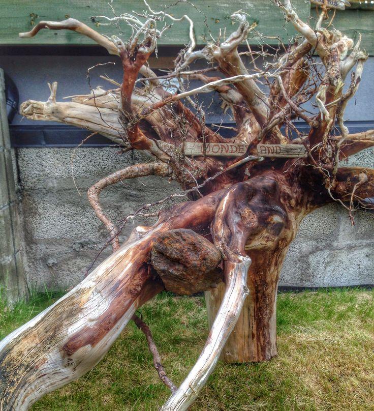 Looking forward to decorate this upsidedown- root.  Wonderland 01.06.14