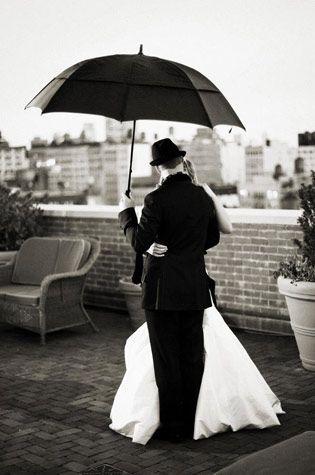 : Black N White, Photos Ideas, Romantic Wedding, Rainy Day, Wedding Ideas, Black And White, Black White, Wedding Photos, Wedding Day Photos