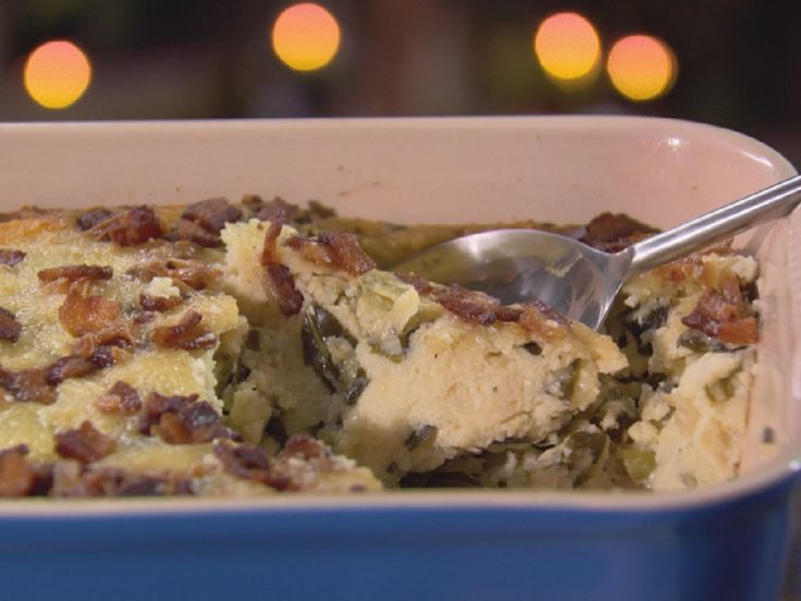 Grits and Greens Casserole recipe from Trisha Yearwood via Food Network