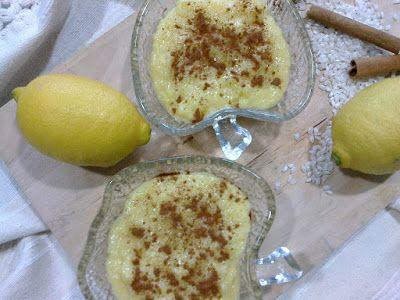 Arroz doce com limão - receita Yammi