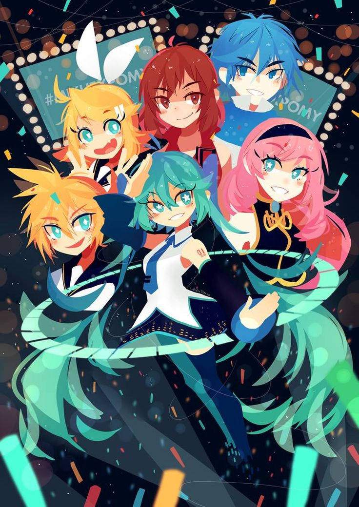20171223 by projectTiGER Vocaloid characters, Vocaloid