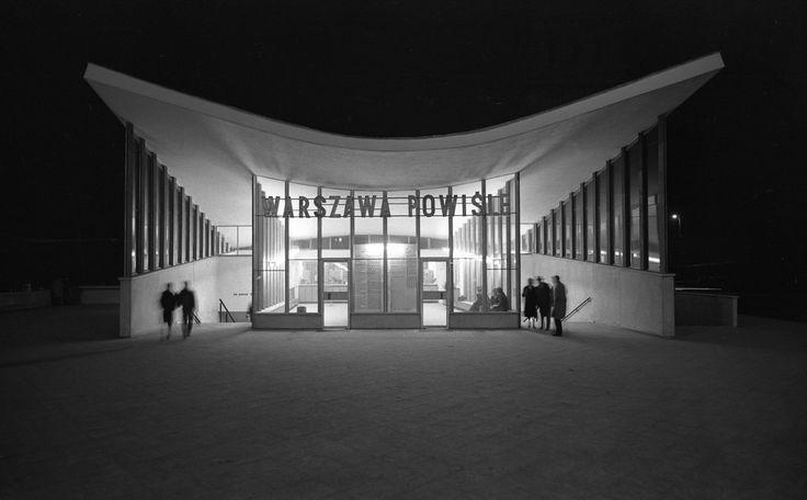 Warszawa - Powiśle, fot. Zbyszko Siemaszko (lata 60.)