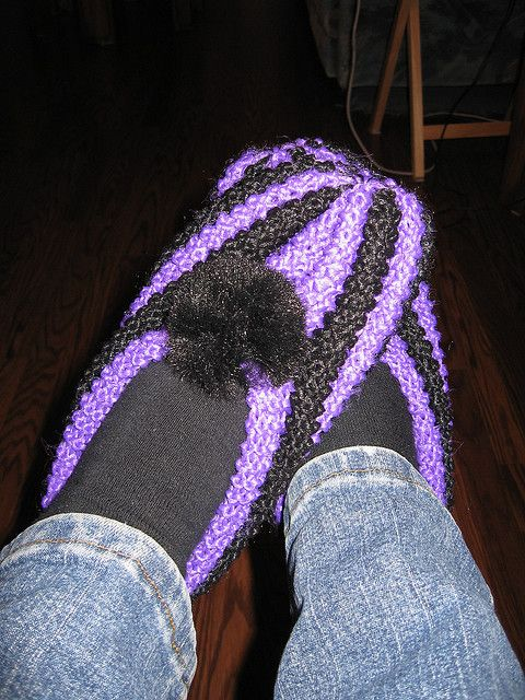Free Crochet Phentex Slipper Pattern : Phentex Slippers by Norbolio, knitted stuff Pinterest ...