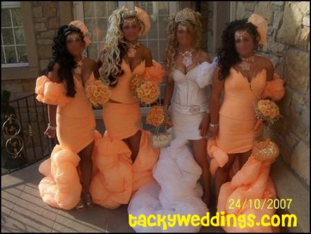 Ugly dresses | All things heinous, trashy, and hilarious in weddings!