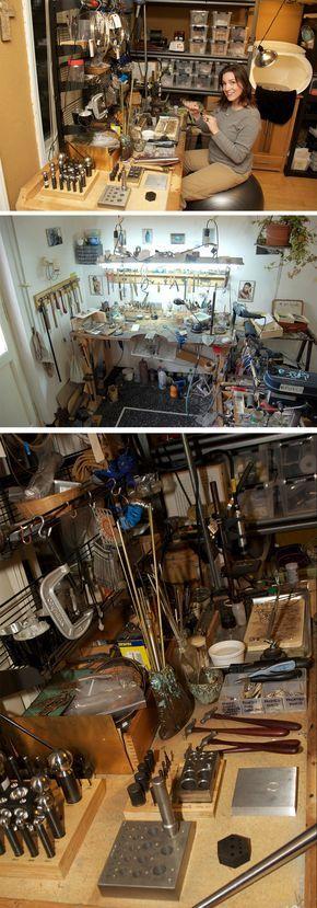 jeweler's workbench #workspace