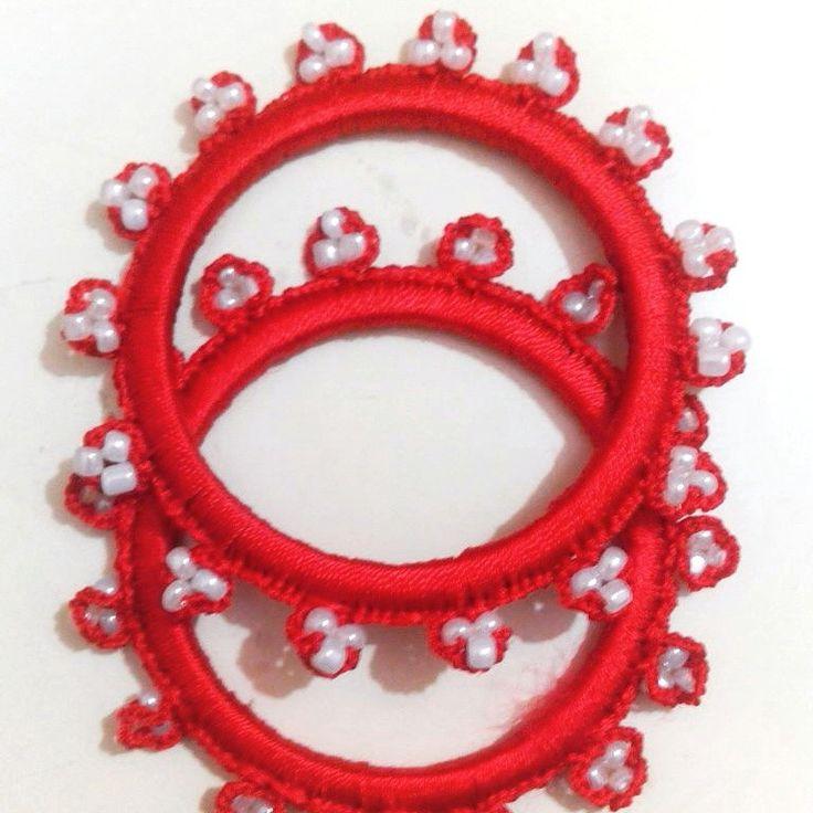 Crochet bangles ... I love to crochet in rainy season....renew old bangles and use them again...