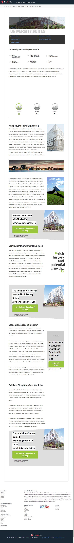 University Suites - Pre-Construction Condos for Sale by Brookfield Multiplex