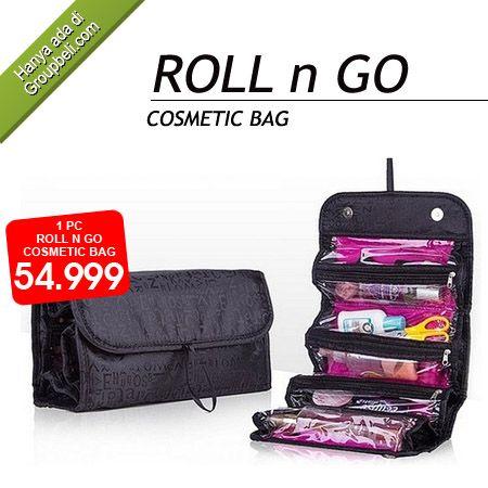 Bawalah Roll N Go Travel Cosmetic Bag sebagai teman dalam perjalanan anda hanya Rp 54.999 http://groupbeli.com/view.php?id=636