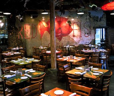 Best Seafood Restaurants in the U.S.: Red Fish Grill - Red Fish Grill, New Orleans  On Bourbon Street, amid jacket-and-tie establishments and strip clubs, this casual, family-friendly restaurant pairs colorful, funky décor.