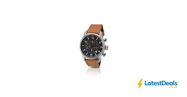 Accurist Men's Quartz Watch with Black Dial Chronograph Display Free Delivery, £30 at Amazon UK