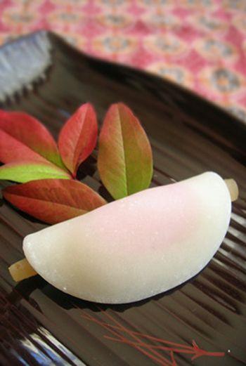 花びら餅  Japanse snoepjes zijn ook weer vandaag