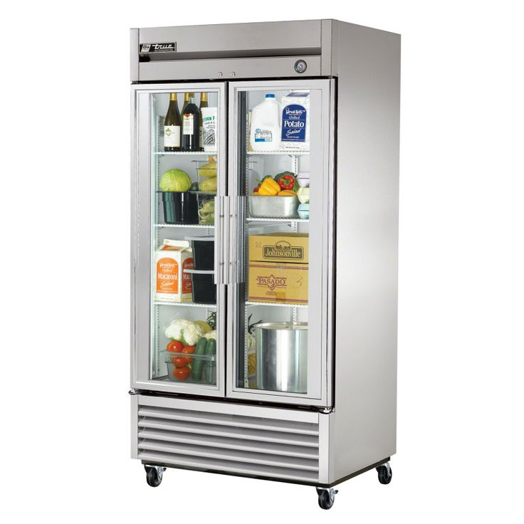 """Purchase a True T-35G 40"""" Glass Door Reach-In Refrigerator online at FoodServiceWarehouse.com"""