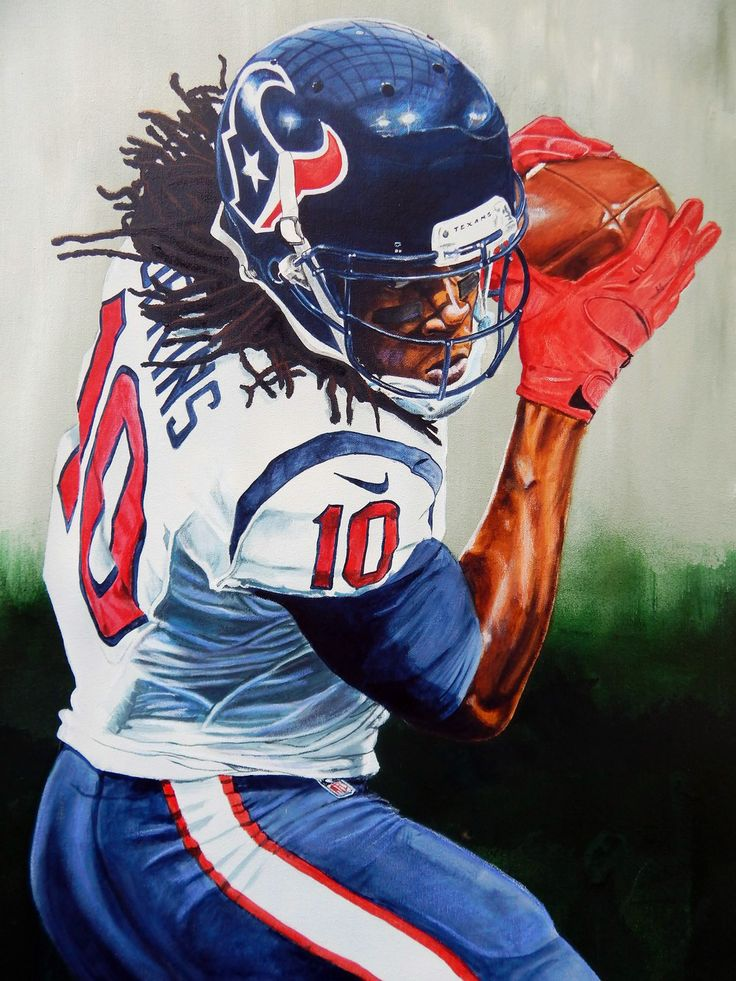 """Eye on the Prize"" Texans DeAndre Hopkins by Ike Rodriguez."