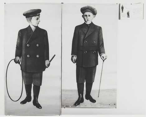 Catalogus van Van Dijk & Witte met 2 bijbehorende platen met kinderkleding 1912| Centraal Museum Utrecht