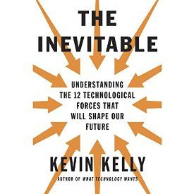 """Another must-listen from my #AudibleApp: """"The Inevitable: Understanding the 12 Technological Forces That Will Shape Our Future"""" by Kevin Kelly, narrated by George Newbern."""