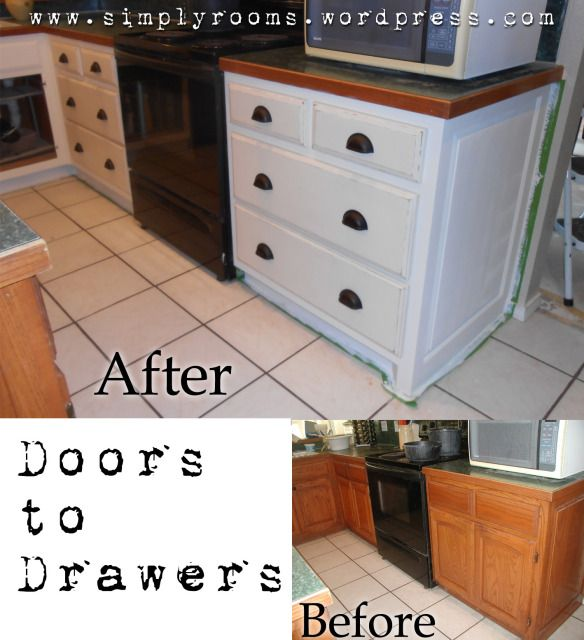 137 best DIY Kitchen Cabinets images on Pinterest | Home, Kitchen ...