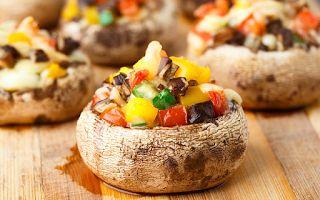 Karatay Yemekleri: Karışık Sebzeli Mantar Dolması