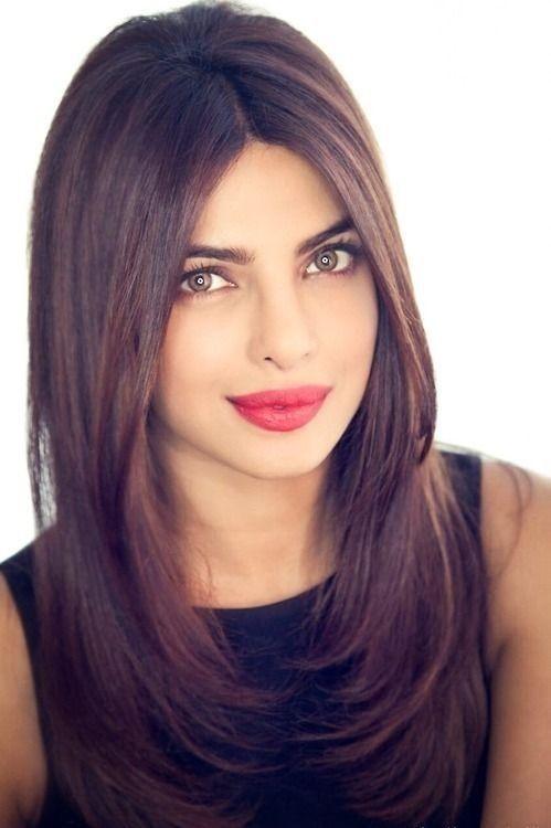 New Semi Long Hair The Most Inspiring Models Best Newest Hairstyle Trends Hair Styles Long Layered Hair Priyanka Chopra Hair