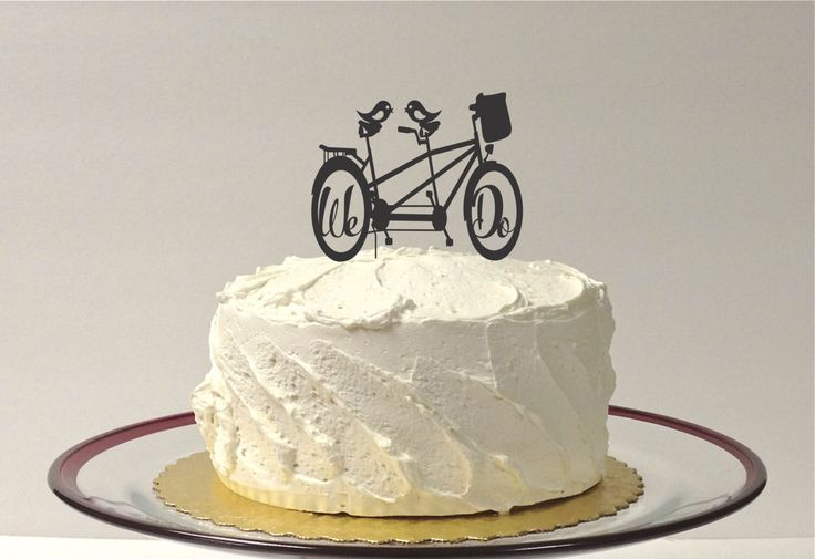 Bicycle Wedding Cake Topper Bike Cake Topper We Do Wedding Cake Topper Mountain Bike Cake Topper Cyclist Cake Topper by CreativeButterflyXOX on Etsy https://www.etsy.com/listing/188224986/bicycle-wedding-cake-topper-bike-cake