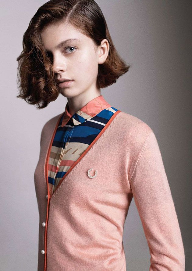 Fred Perry || Richard Nicoll's first Laurel Wreath collection for Spring/Summer 2011